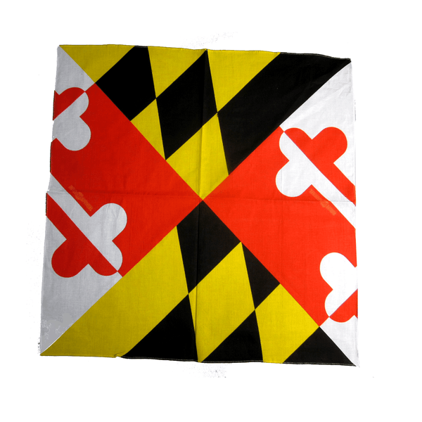 Maryland Flag / Bandana (22 x 22 inch)