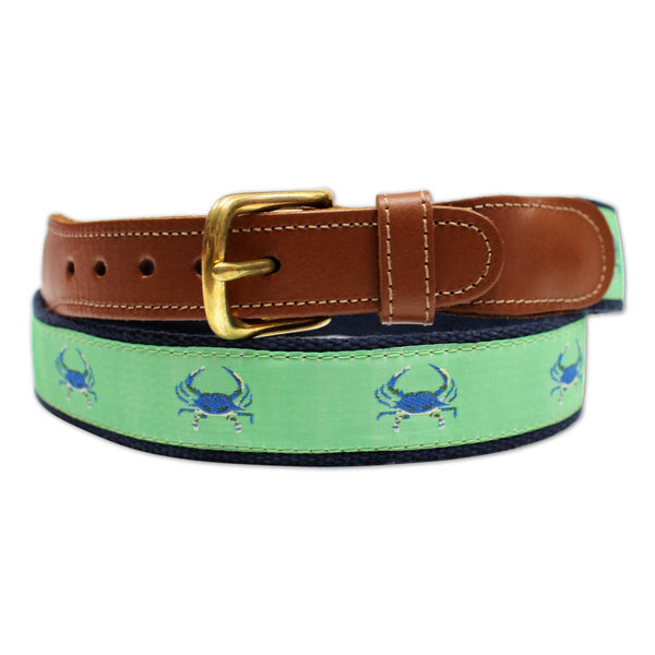 Lime & Blue Crab / Belt