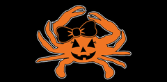 Halloween Jill Pumpkin Crab / Sticker