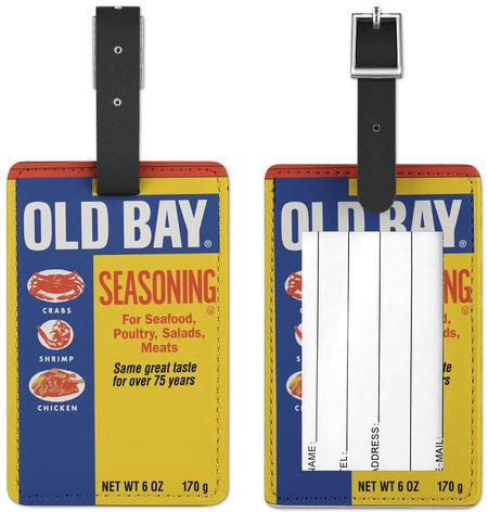 Old Bay Can / Luggage Tag