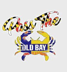 Pass the Old Bay / Sticker