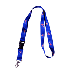 American Flag Crab (Blue) / Lanyard - Route One Apparel