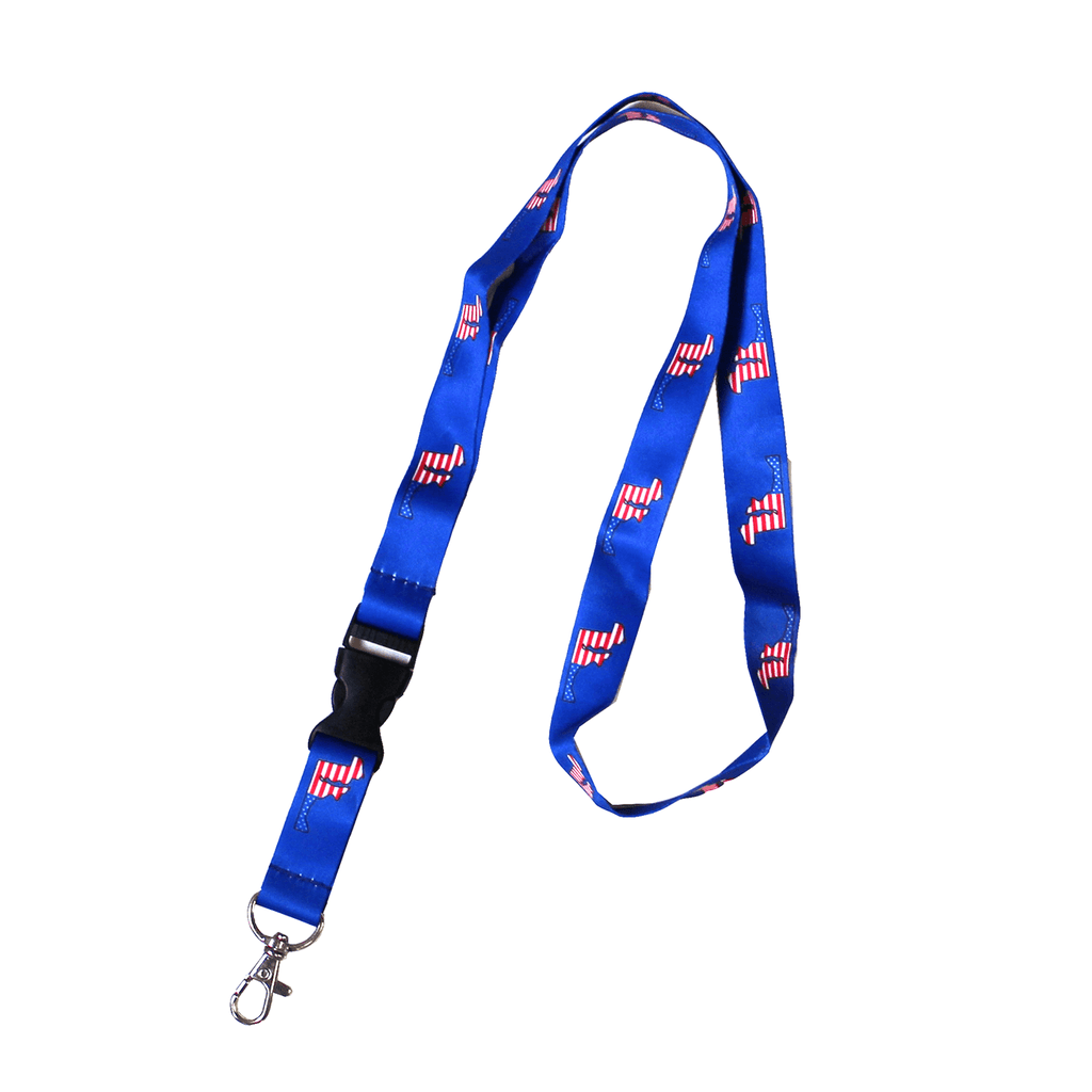 American State of Maryland (Blue) / Lanyard - Route One Apparel