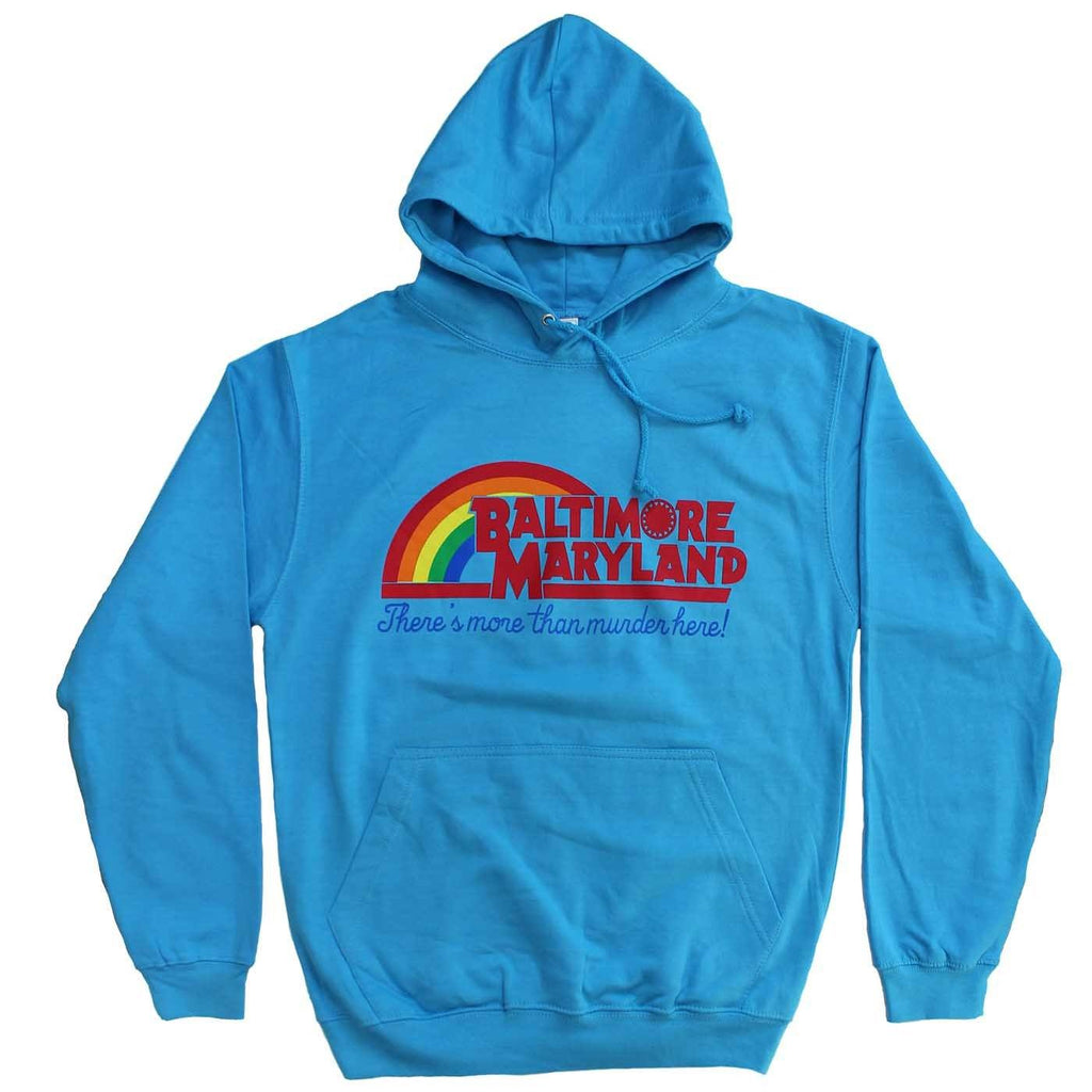 There's More Than Murder Here (Hawaiian Blue) / Hoodie