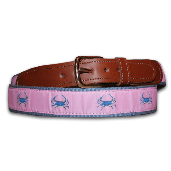Pink & Blue Crab / Belt