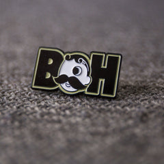 Basic Boh Logo Text / Pin