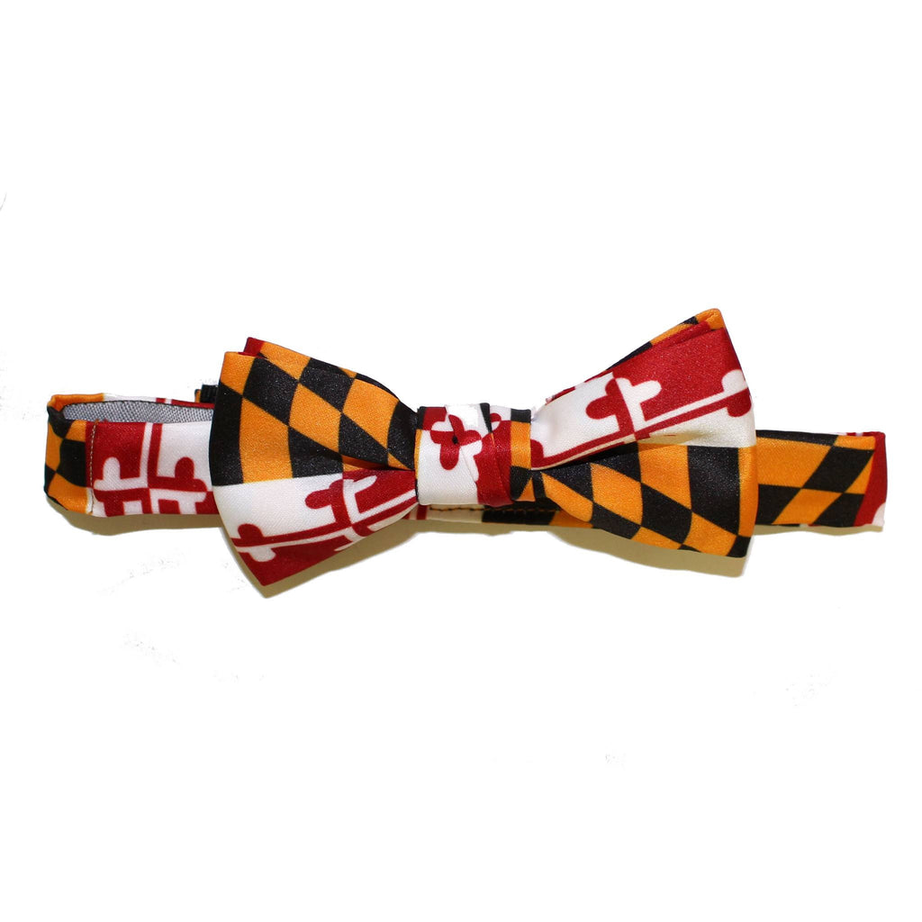 Maryland Flag / Baby + Youth Pre-Tied Bowtie