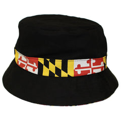 Maryland Flag Outline / Bucket Hat