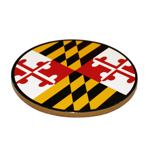 Maryland Flag / Cork Coaster