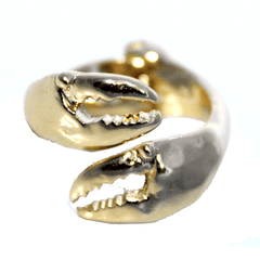 Crab Claw (Gold) / Ring - Route One Apparel
