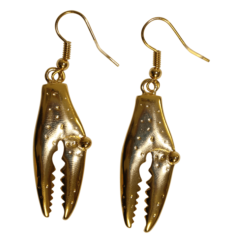 Maryland Crab Claw (Sterling Silver w/ 14K Gold Vermeil) / Earrings