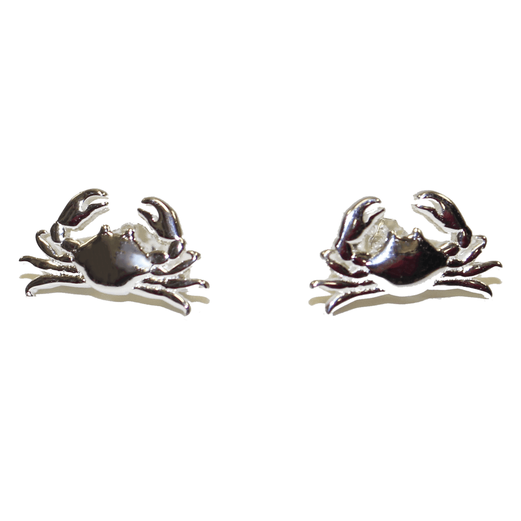 Maryland Blue Crab (Sterling Silver) / Earrings (Back-Ordered Until 1/10)