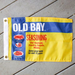 Old Bay Can / Flag
