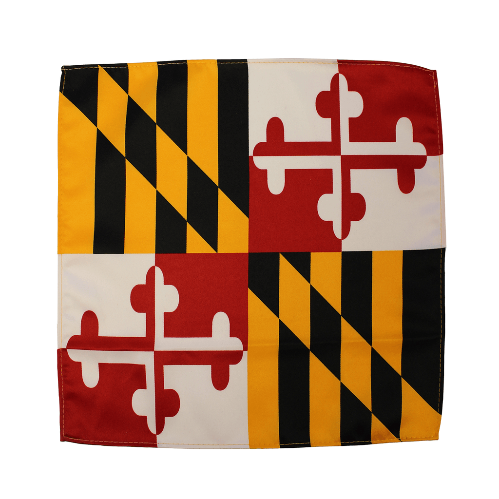 Maryland Flag Pocket Square – Route One Apparel