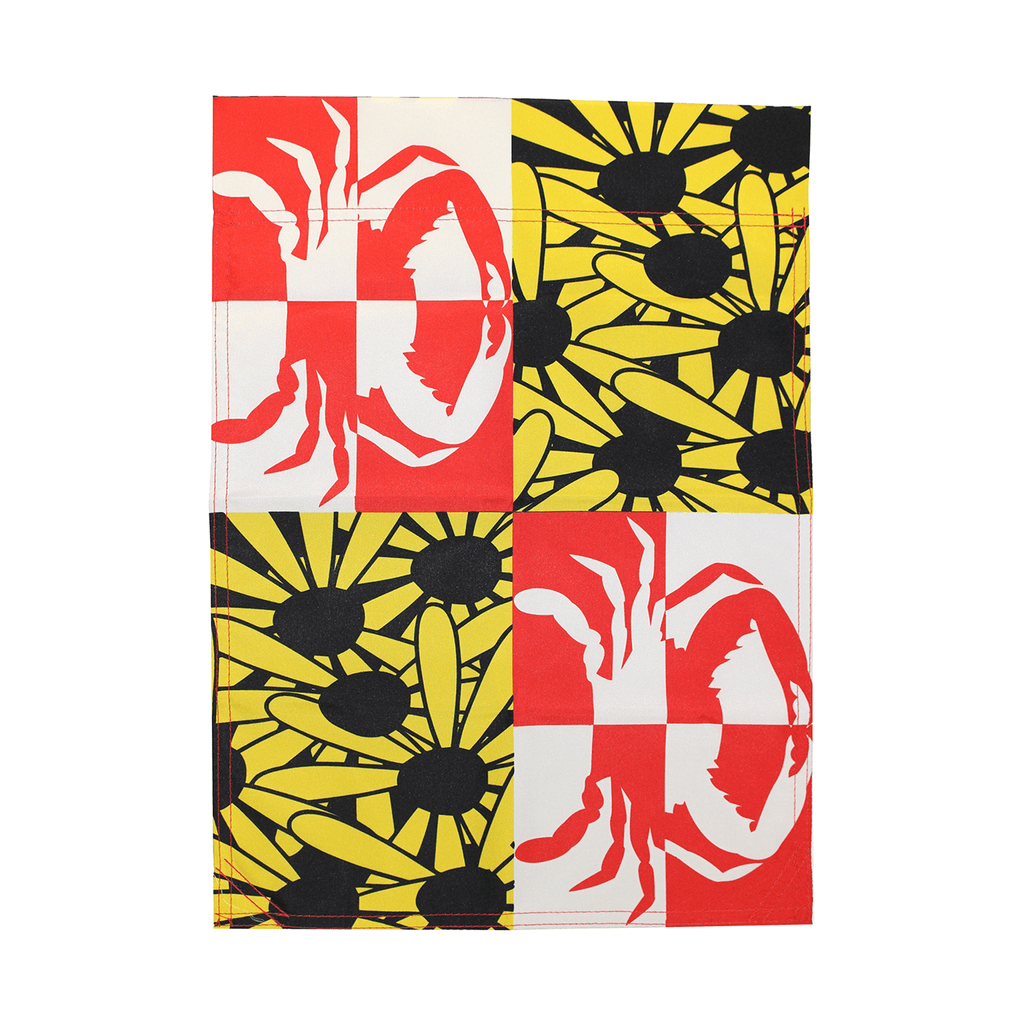 Crabby Susan Maryland / Garden Flag - Route One Apparel