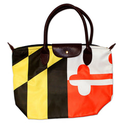 Maryland Flag / Nylon Handbag