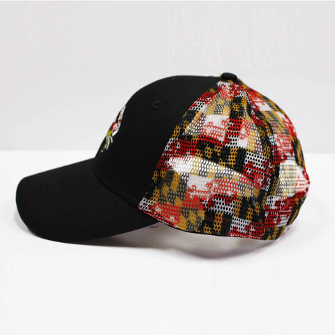 Maryland Full Flag Crab w/ Maryland Flag Mesh (Black) / Trucker Hat