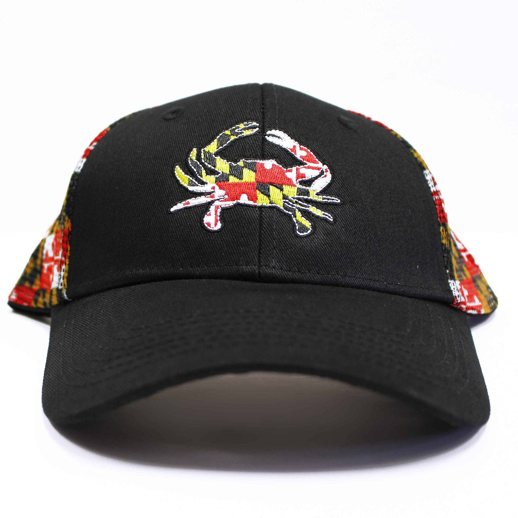 5536318f029f3 Maryland Flag Trucker Hat – Route One Apparel
