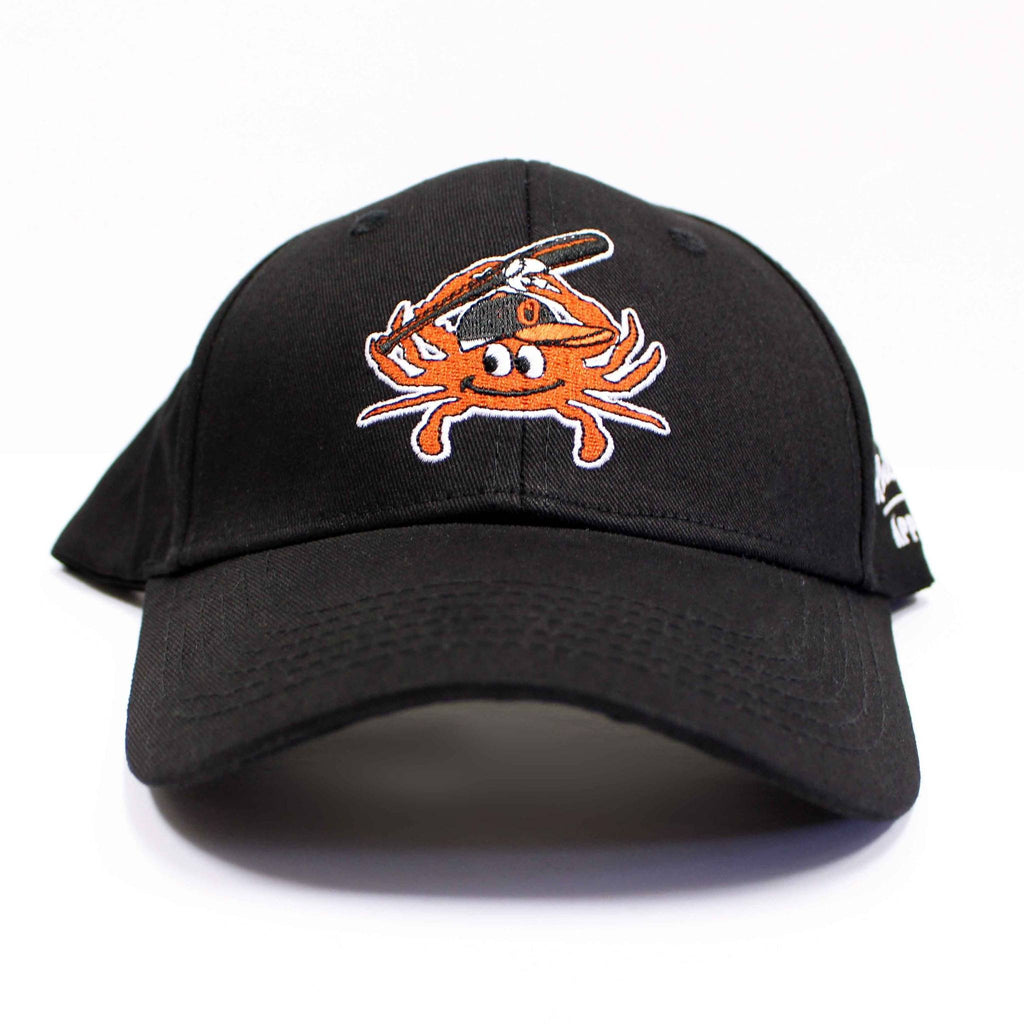 Baltimore Baseball Orange Crab (Black) / Baseball Hat - Route One Apparel
