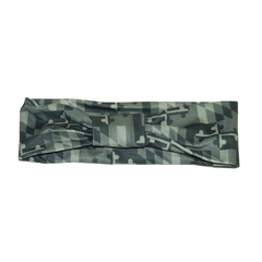 Green Camo Maryland Flag (Style 2) / Headband