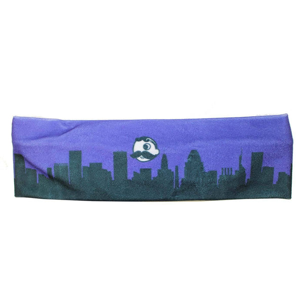 Natty Boh Skyline (Purple) / Headband