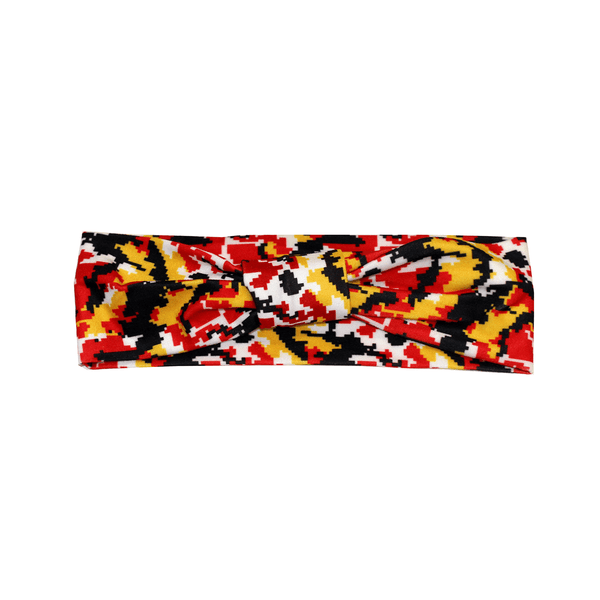 Maryland Colors Digi Camo / Headband