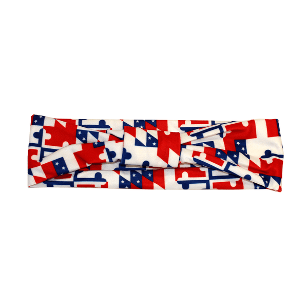America in Miniature Maryland Flag (Style 2) / Headband