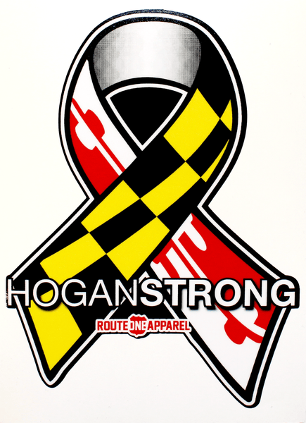 Hogan Strong / Sticker