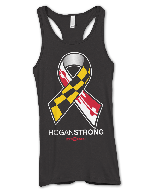 Hogan Strong (Black) / Ladies Racerback Tank