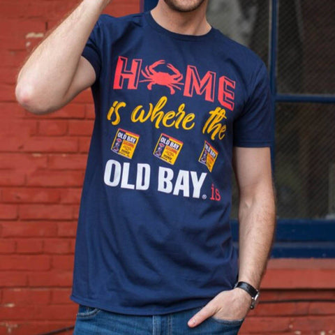 Home Is Where The Old Bay Is (Navy) / Shirt