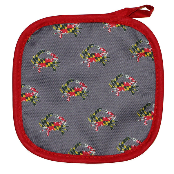 Maryland Flag Crab (Grey) / Pot Holder