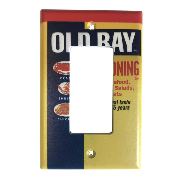 Old Bay Can / Decora Switch Cover