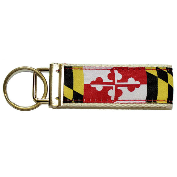 Maryland Flag / Key Chain (Back-Ordered Until 9/25)