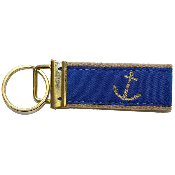 Blue Nautical Anchor / Key Chain