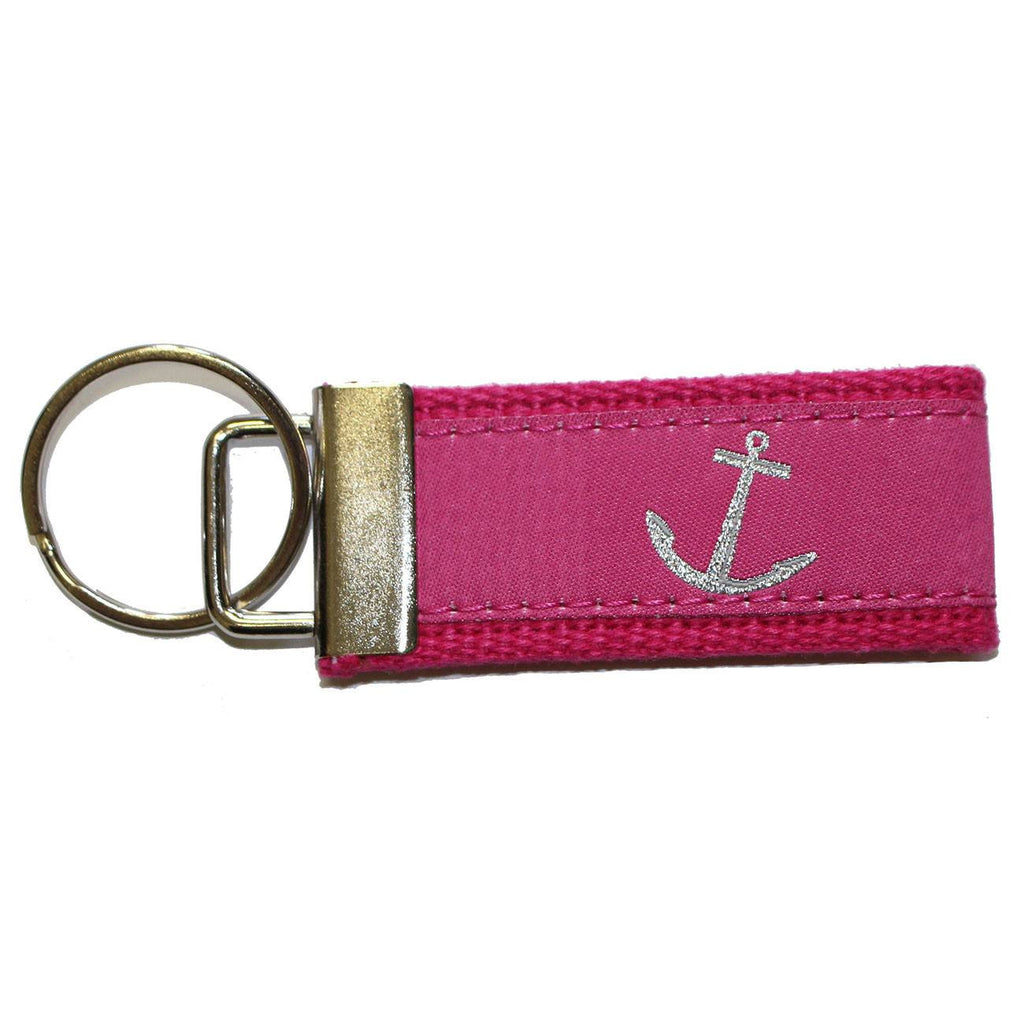 Pink Nautical Anchor / Key Chain
