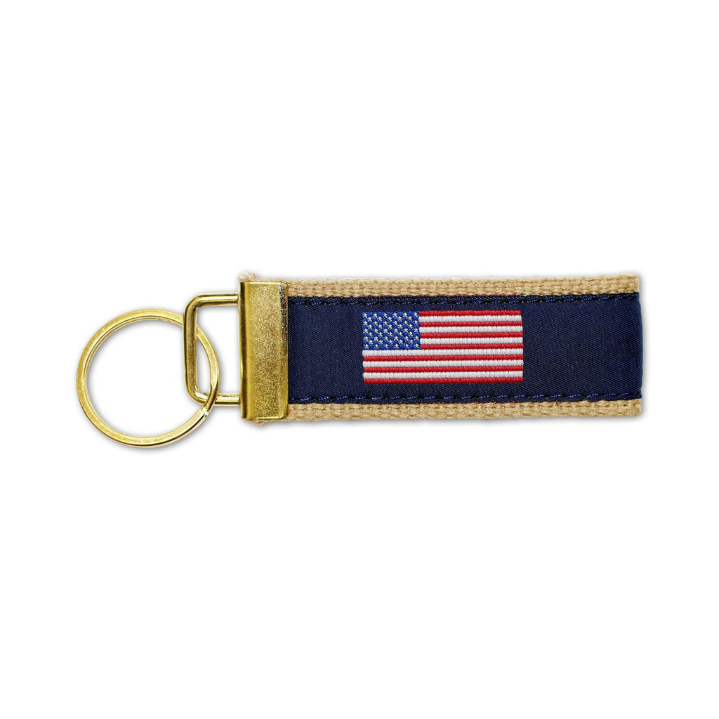 American Flag / Key Chain - Route One Apparel