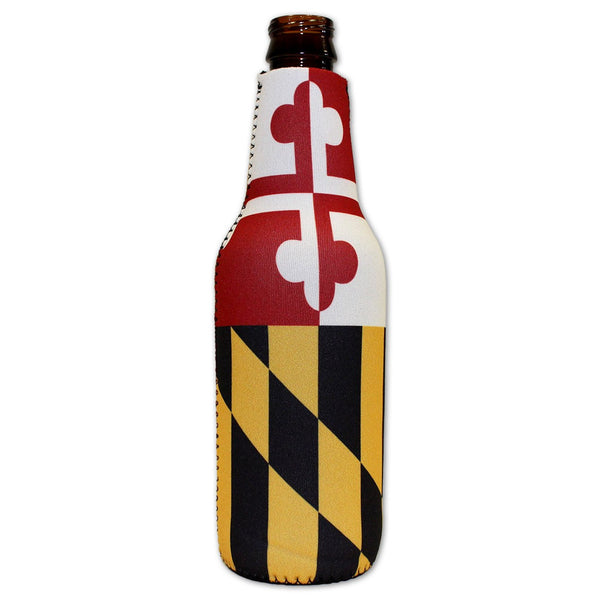 Maryland Flag / Bottle Koozie