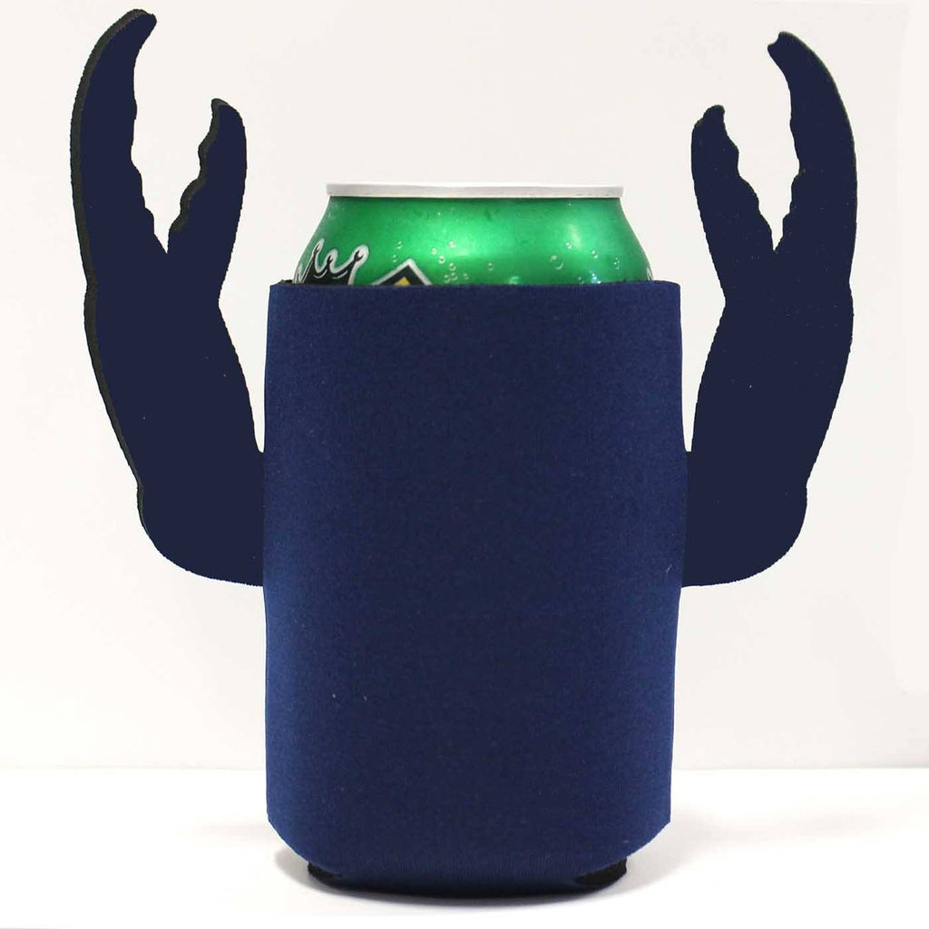 Basic (Blue) / Crab Claw Koozie - Route One Apparel