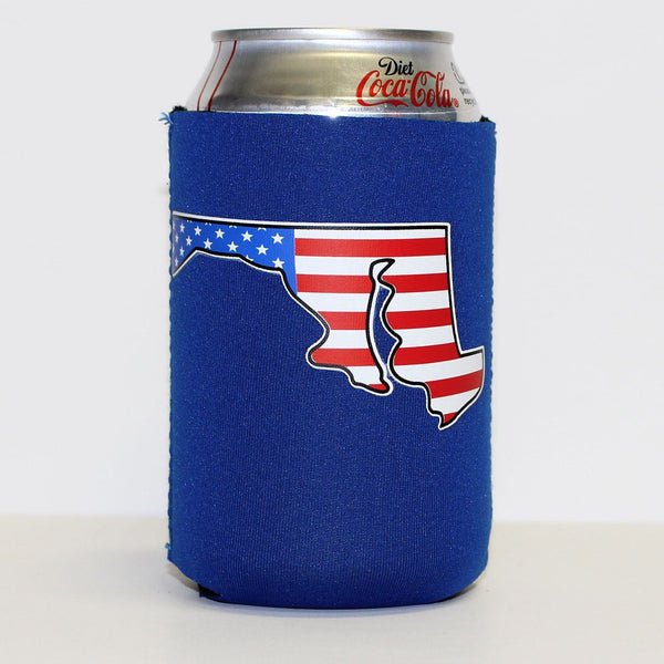 American State of Maryland (Blue) / Koozie