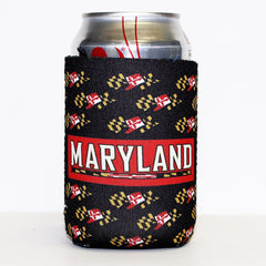 University of Maryland Waving Flag / Koozie