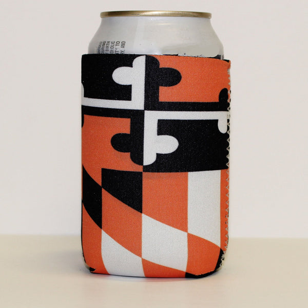 Baltimore Baseball Black & Orange / Koozie