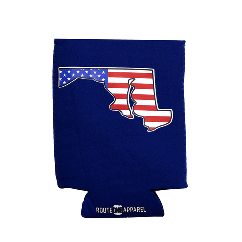 American State of Maryland (Blue) / Koozie - Route One Apparel