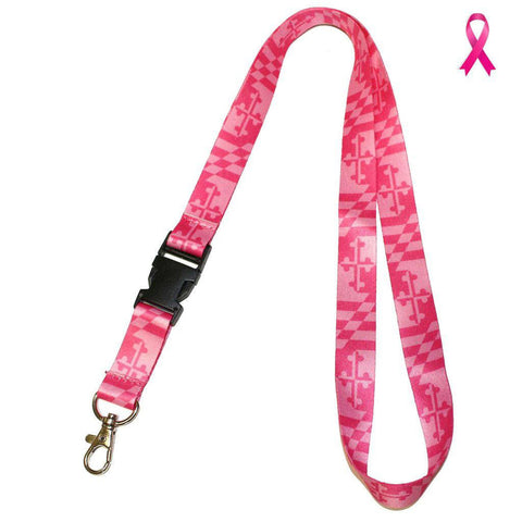 Maryland Flag (Pink) / Lanyard