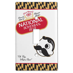 Natty Boh Calvert Can / Light Switch Cover