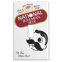 Natty Boh Original Can / Light Switch Cover