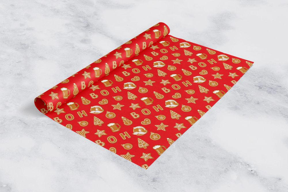 *PRE-ORDER* Natty Boh Christmas Cookie (Red) / Tissue Paper Pack (Estimated Arrival Date: 11/1) - Route One Apparel