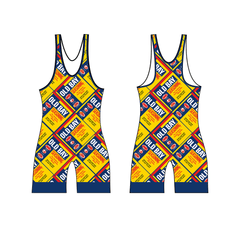 9d5b784aaff Full Old Bay Can Pattern   Wrestling Singlet (1-2 Week Delivery)