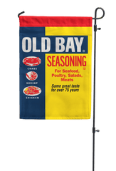 Old Bay Can / Garden Flag