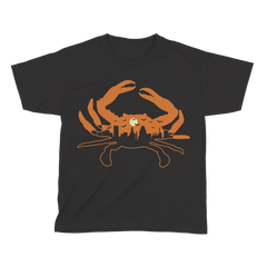 *PRE-ORDER* Spooky Skyline Crab / *Youth* Shirt (Estimated Arrival Date: 10/1) - Route One Apparel