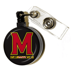 "*PRE-ORDER* University of Maryland ""M"" Logo / Retractable Badge Holder"